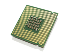 Image of a computer processor. PCvet offers component repair and upgrades for workstations and laptops.